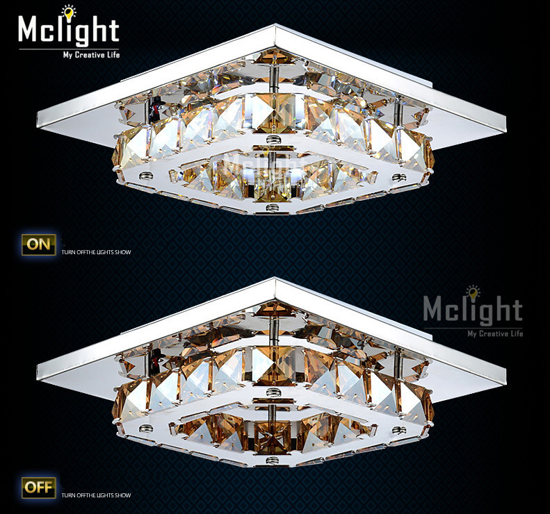 Modern LED Diamond Crystal Ceiling Light Fitting Crystal Lamp for Hallway Corridor Fast Shipping<br><br>Aliexpress