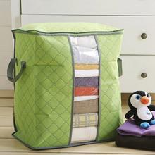 Vendita caldo 2015 vendita calda portatile scatola di immagazzinaggio organizzatore non tessuto abbigliamento pouch holder coperta cuscino sottoletto storage bag box(China (Mainland))