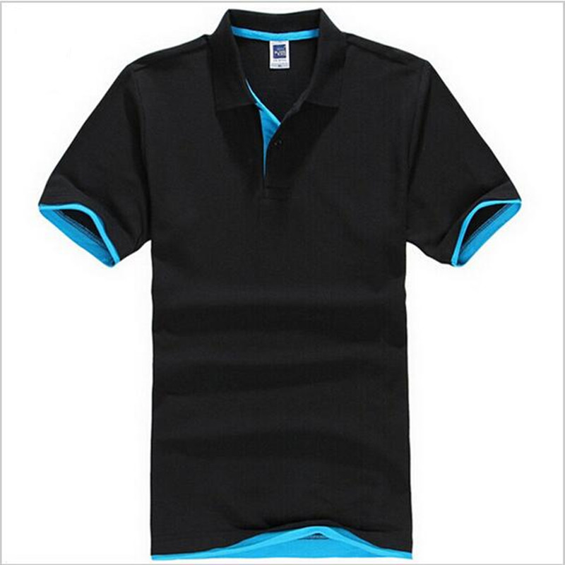 Brand New Men's Polo Shirt Men Cotton Short Sleeve shirt Plus Size XS - 3XL camisa Polos homme
