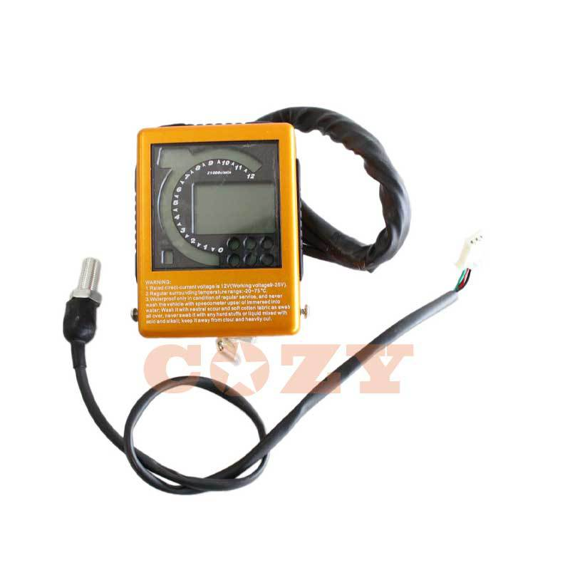 Digital Speedometers & Speed Sensor Bashan Panther Warrior Quad ATV BS200S-7(China (Mainland))