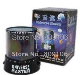 Wholesale ,Free shipping, Festival Gift/ lover Star Projector Lamp Star Projector/Cosmic master projector/ night light(China (Mainland))