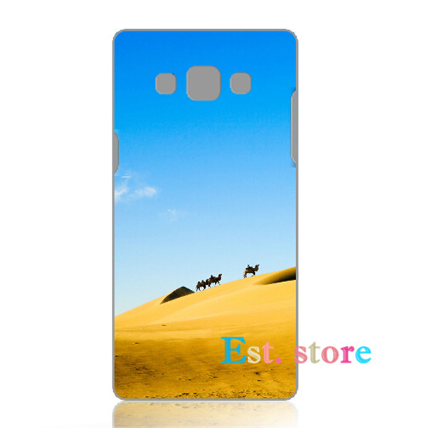 Unusual Desert superb Curious emboss UV print hard phone cover for samsung note 2 3 4 A5 A7 S4mini galaxy S3 S4 S5 S6 back case(China (Mainland))