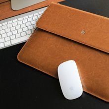 """Luxury Ultra Leather cover for Macbook Air 11 & 13  inch Fplio Flip Sleeve case for Macbook 11 /13"""" with Magnetic Free shipping(China (Mainland))"""