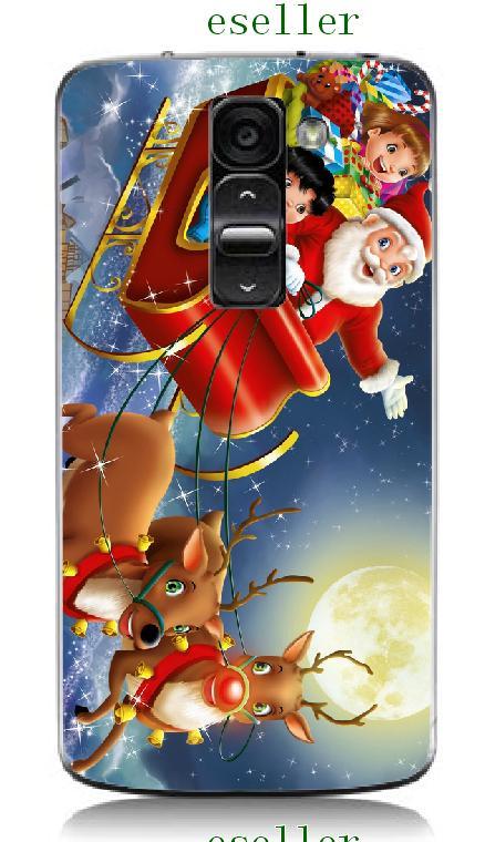 Cajas Del Teléfono móvil Caliente 1 unid Navidad Tigre Diseño Híbrido Protectora caso duro blanco para lg g2 mini d618 d620 envío gratis(China (Mainland))