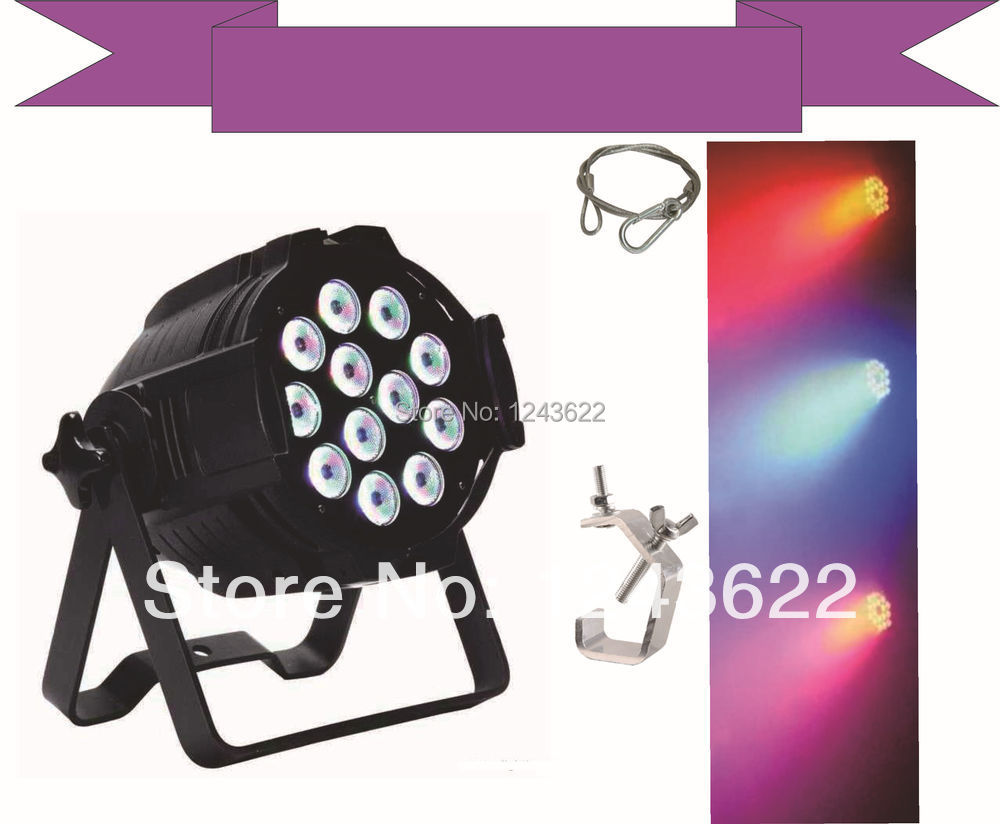 18*12W LED Par Light,RGBW 4in1& free cost Light hook and safety rope(China (Mainland))