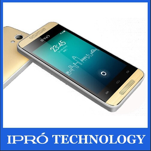 Original Smart Phones(iPro Trans II) 3.5inch Android 4.2 Touch Phone Dual Core 2G/3G WCDMA network GPS/WIFI/Bluetooth GOLD color(China (Mainland))