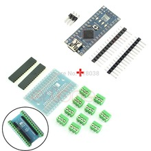 Newest Nano 3.0 Controller Board with CH340 USB Driver + Terminal Adapter for Arduino for Arduino  Free Shipping