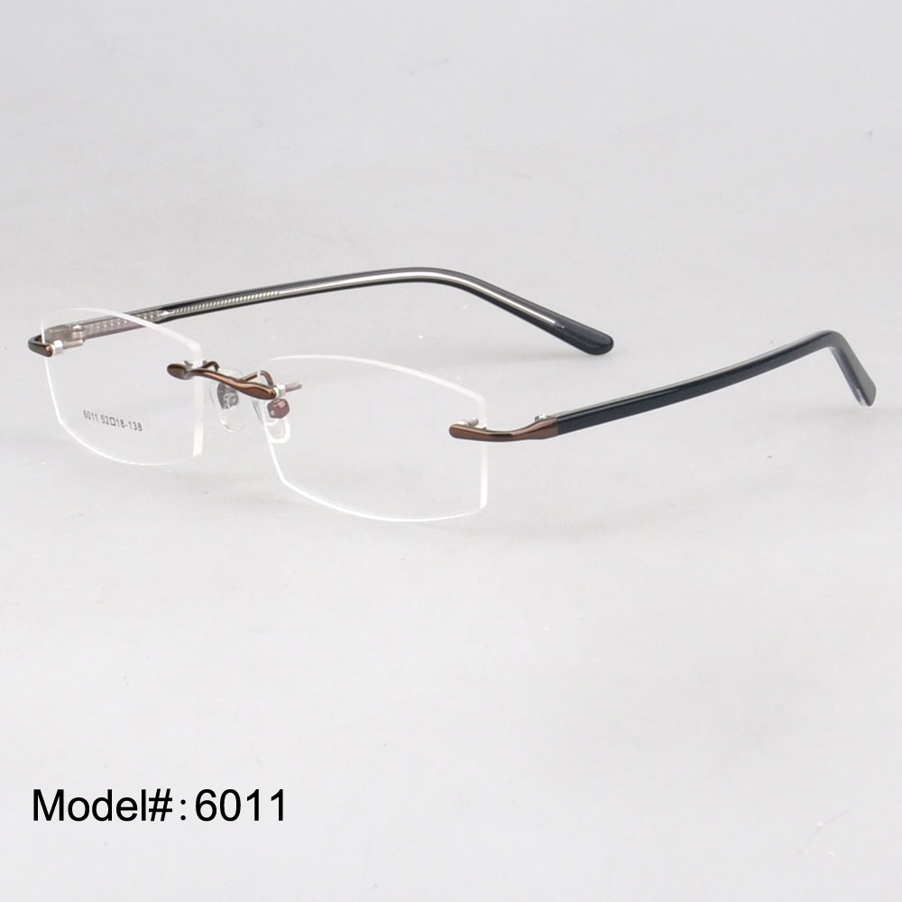 Rimless Glasses At Vision Express : Aliexpress.com : Buy 6011 New fashional stainless steel ...