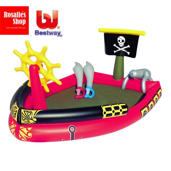 Opblaasbare piraat pool promotie winkel voor promoties - Piscina hinchable decathlon ...
