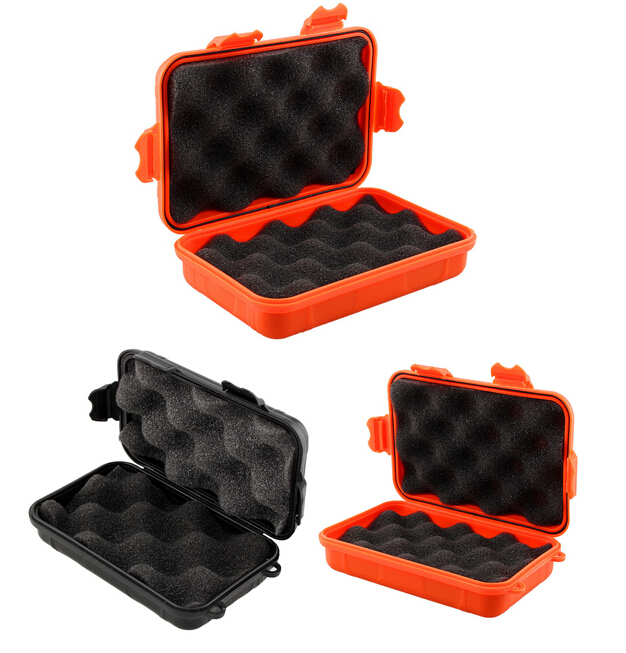1PC Outdoor Shockproof Waterproof Airtight Survival Case Container Storage Carry Box 3 Colors(China (Mainland))