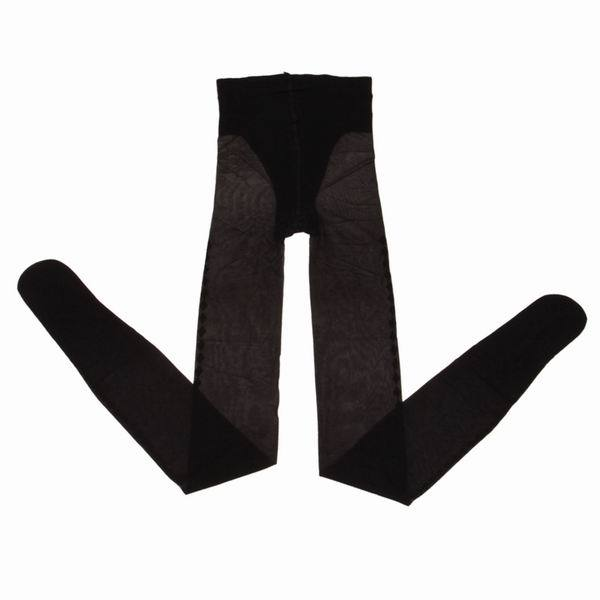 Women Lady's 5pcs/bag Fashion Black Cotton Spandex Elastic Tights Thin Footless Jacquard Pantyhose One Size 2629 Free Shipping(China (Mainland))