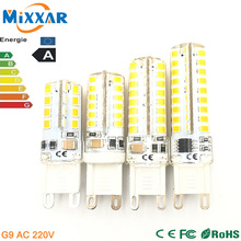 ZK30 G9 led corn lamp AC220V 3014 15W 10W 12W 2835 LED Crystal Silicone Candle Replace 20-40W halogen lamps Christmas light bulb(China (Mainland))
