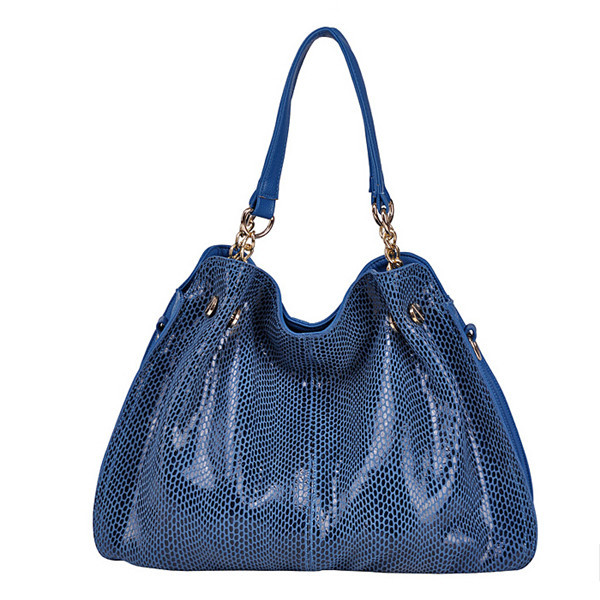 Blue Shoulder Handbag