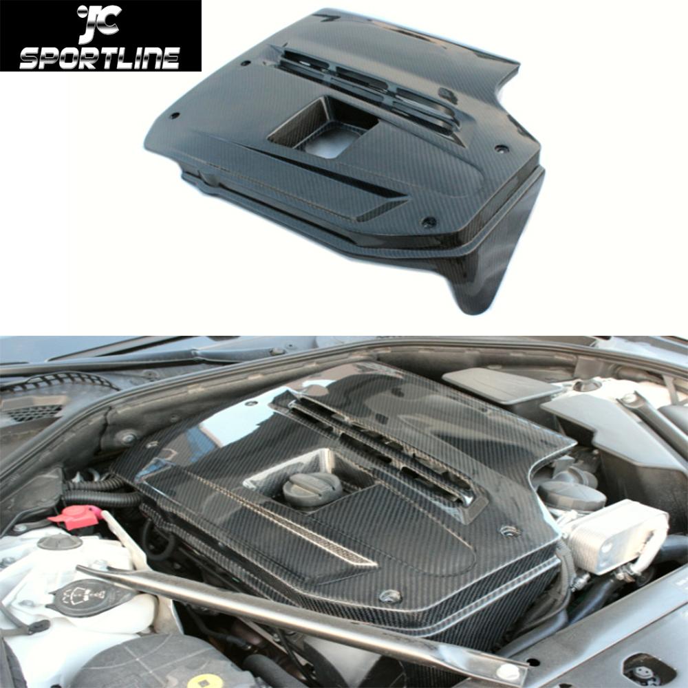 Buy 5 Series F10 Carbon Fiber Engine Bonnets Cover Trims For Bmw F10 528i 535i