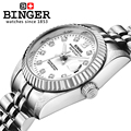 Switzerland Wristwatches BINGER 18K gold watches women self wind automatic winding mechanical Wristwatches BG 0375