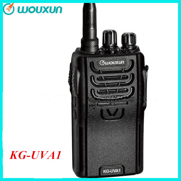 WOUXUN KG-UVA1 Hand Held Transceiver Two Way Radio 136-174&400-480MHz Walkie Talkie(China (Mainland))