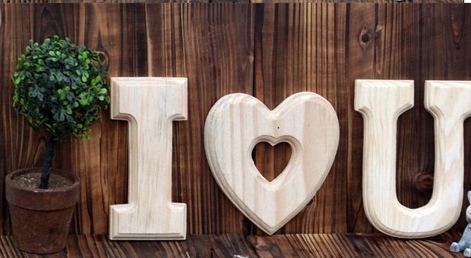 ... Lettres Alphabet Alphanumérique DIY décoration de mariage bar café