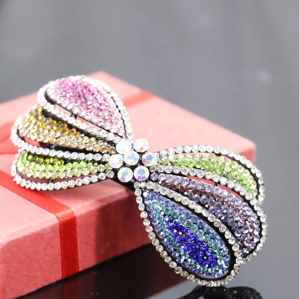 42x88mm Bridal Wedding Headdress Headband Head Bands Headpiece Hair Accessory Hair Clip Hairpin Rhinestone For women(China (Mainland))