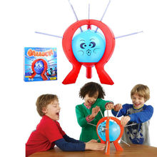 Spin Master Games Crazy Party game Funny toy popular Boom Boom Balloon Board Game for kids(China (Mainland))
