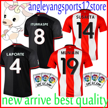 Best quality 2015 Athletic Bilbao Jersey Soccer ADURIZ IBAI Muniain 15  2016 Athletic Bilbao Home Away Football Uniforms Shirt