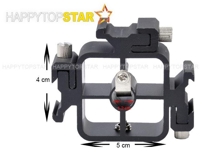 Metal Three 3 in 1 HotShoe Mount Adapter Flash Holder Bracket 3/8 1/4 Thread<br><br>Aliexpress