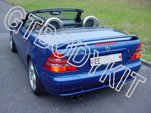 MERCEDES BENZ 1998-2004 R170 SLK CLASS L-STYLE REAR WING TRUNK SPOILER<br><br>Aliexpress