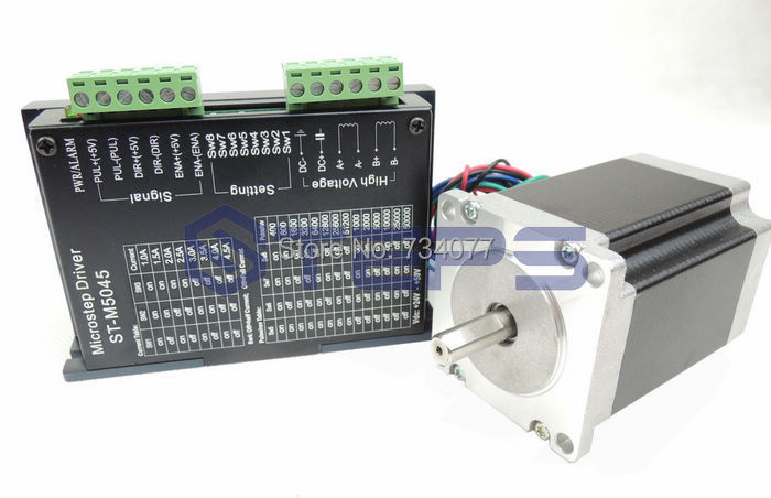 Free shipping cnc kit st m5045 stepper motor driver for What is a stepper motor controller