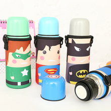 350ml Child Kids Cute Thermos Flask Winter Hot Insulated Water Bottle Stainless Steel Vacuum Thermo Bottle