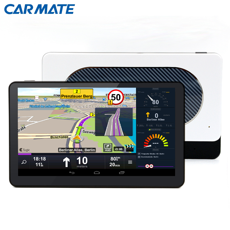 2016 Android 4.4 Car GPS Navigation Quad-Core 8GB WIFI FM 7 inch Capacitive screen Navigators automobile Map Free Update(China (Mainland))
