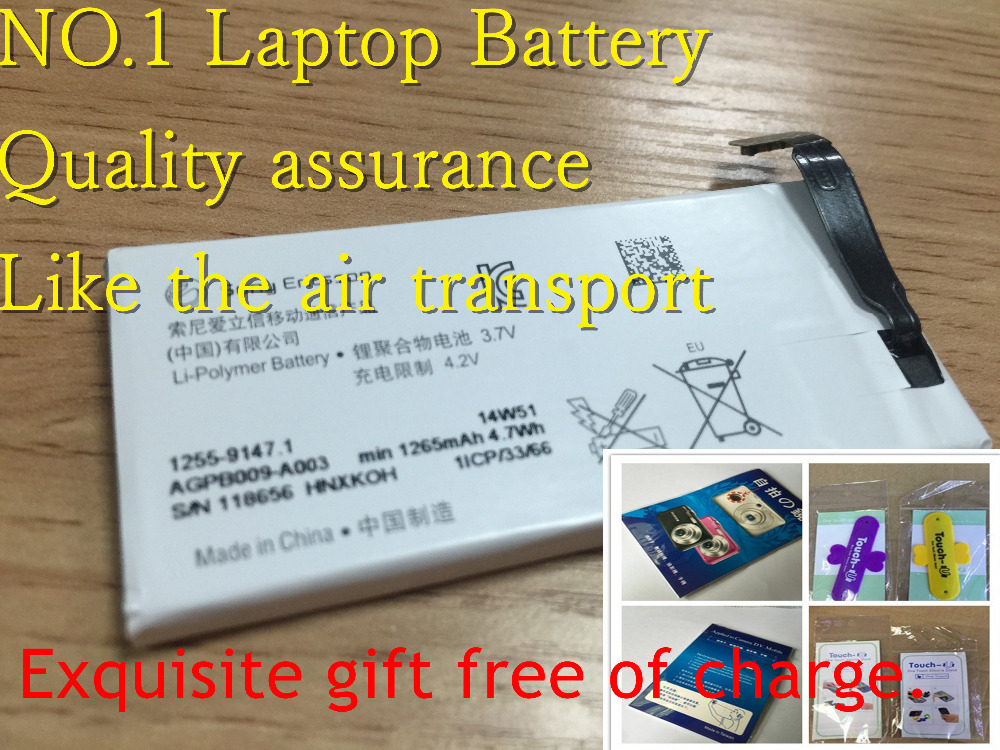 Li-ion Mobile Phone Battery FOR SONY AGPB009-A003 / 1255-9147.1 XPERIA GO ST27i - No.1 battery store
