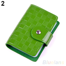 Woman Lady Patent Leather ID Credit Card Case Holder Pocket Bag Wallet Hot Sale 05SO
