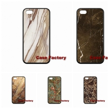 Brown Marble Xiaomi Redmi 2 3 Mi5 Samsung Galaxy S3 S4 S5 S6 mini Note 4 5 S7 Edge E5 E7 Sony Xperia C C3 M2 hard case - My Phone Cases Factory store