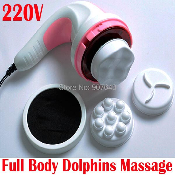 NEW electric Full Body Weight Fat loss auto slimming Wrap dolphins Massager Relax Spin Tone healthy care Beauty massage device(China (Mainland))