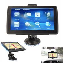 "2016 New 8GB 7"" TFT Touch Screen Bluetooth Car GPS Navigation SAT NAV FM Free Map Update"