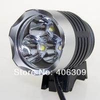 Free Shipping 3200 Lumen 3xCREE XM-L2 Bike Light Lamp Cap 4-Mode Bike Bicycle Light LED Bicycle Light Flashlight