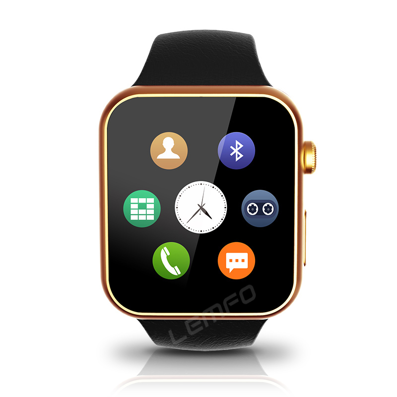 Smartwatch A9 Bluetooth Smart watch for Apple iPhone &amp; Samsung Android Phone relogio inteligente reloj Smartphone Watch 2015 New<br><br>Aliexpress