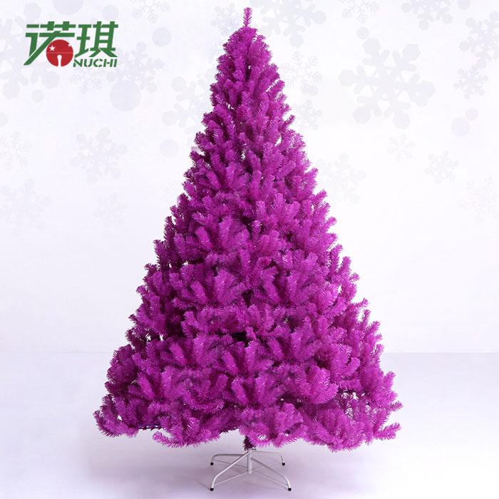 Purple christmas tree 240cm2 . 4 meters luxury purple encryption christmas tree decoration 10.2kg Christmas(China (Mainland))