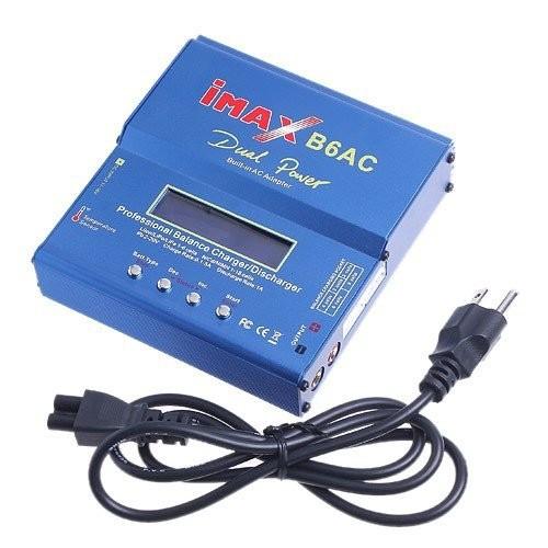 50pcs Battery charger for iMax b6 AC Balance charger NiMH 2S 3S 4S 5S 6S RC US AK KU EU AU UK PL UG Charger(China (Mainland))