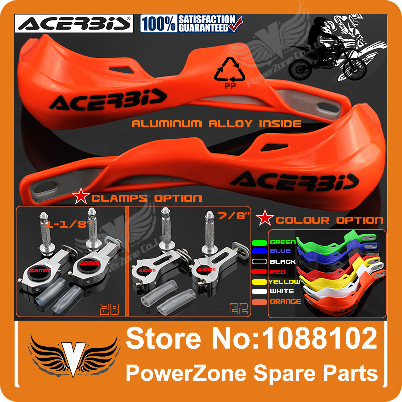 ACERBIS KTM CRF YZF KLX RMZ KXF Dirt Bike Motorcycle Motorcross Handle bar handguards Hand Guards
