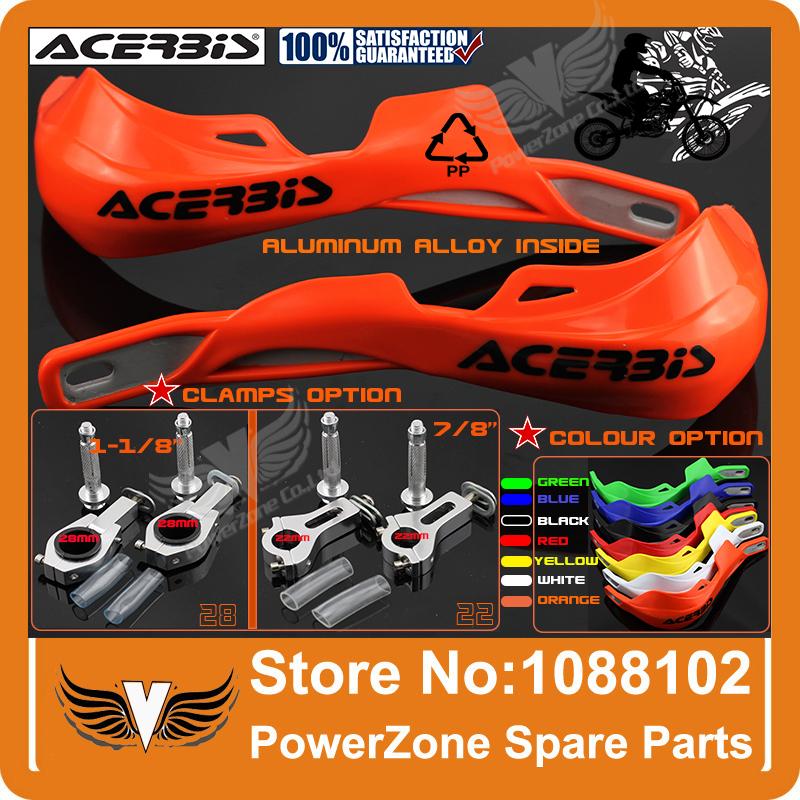 "ACERBIS KTM CRF YZF KLX RMZ KXF Dirt Bike Motorcycle Motorcross Handle bar handguards Hand Guards 7/8"" 22mm Or 1-1/8 28mm FatBar(China (Mainland))"