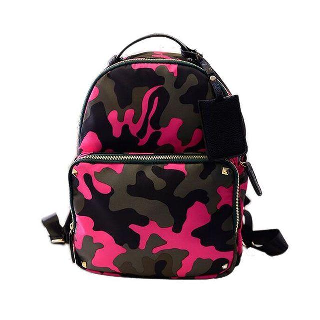 2016 марка дизайнер камуфляж рюкзаки женщины школьные сумки подростков путешествия ...