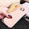 Phone Case For Samsung Galaxy S6 Thin Clear Plating Electroplating TPU Soft Mobile Phone Cases Cover For Samsung Galaxy G9200