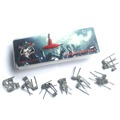 Electronic cigarette Demon Killer LOVE ME 8IN1 Wire Prebuilt Coils Clapton Quad Tiger Hive Alien Fused Twisted For RDA Atomizer