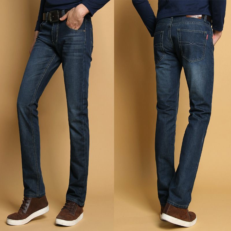 Tall men's jeans can be hard to find, particularly if you're a tall skinny guy. Most big brand clothing lines stop at a 34 length, 36 at best.