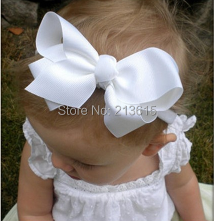 Hot Sale Baby Girl Headbands Flower Headbands Photo Prop Baby Shower Bow Knot Hair Accessories HD71 Free Shipping(China (Mainland))