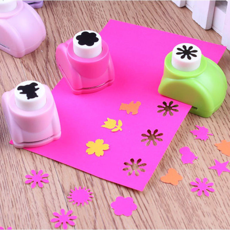 Hot sale mini paper shaper cutter flower paper for Craft punches for sale
