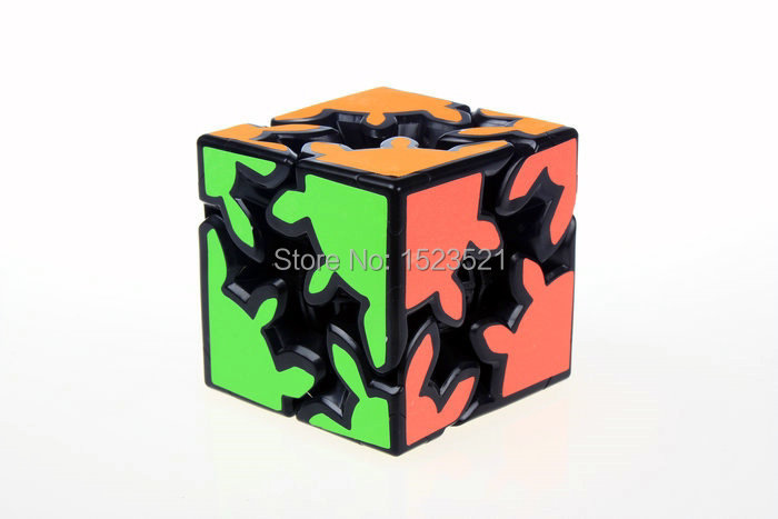2014 Brand New Kuaishouzhi 2x2x2 Gear Cube Cool Toy Speed Puzzles(black) 002 - zhang juan You're welcome store