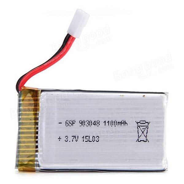 JJRC H5P RC Quadcopter Spare Parts 3.7V 1100mAh Battery<br><br>Aliexpress