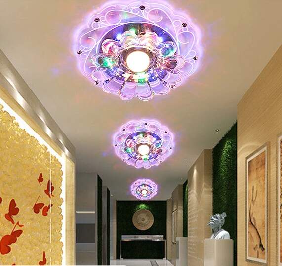 led crystal lamp aisle lights corridor lights porch lights adorn the walls of the living room ceiling light Ceiling lights<br><br>Aliexpress