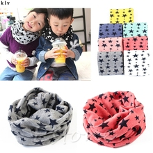 Buy 1pc New Scarf Winter Warm Boys Girls Collar Baby Scarf Children Stars O Ring Neck Scarves for $1.27 in AliExpress store